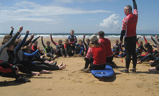 Kids Surfing Lessons