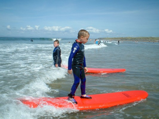 Kids Surfing Lesson